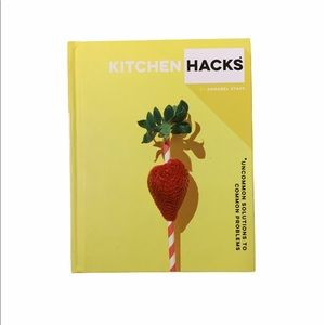 Free with purchase! Kitchen hacks book